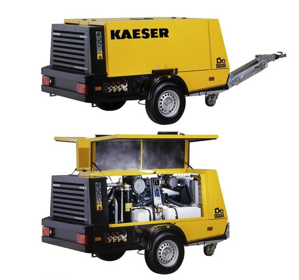 [Translate to Englisch:] KAESER M80 Dieselkompressor