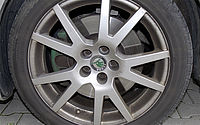 Alloy wheels before