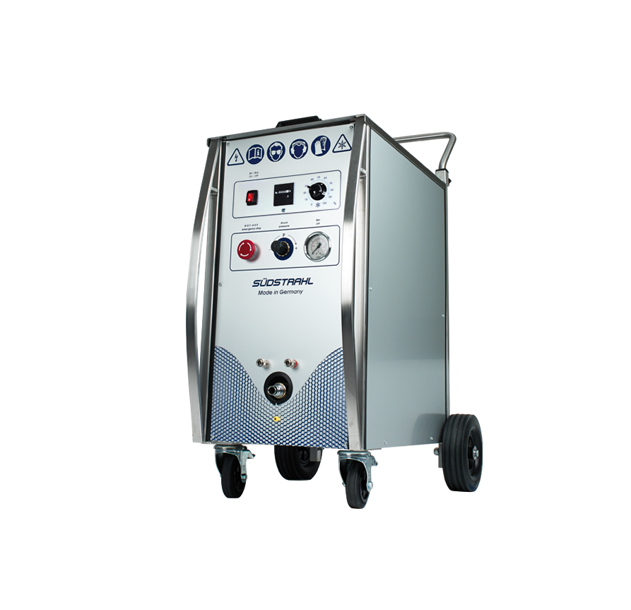 Dry ice cleaning machine PowerJet