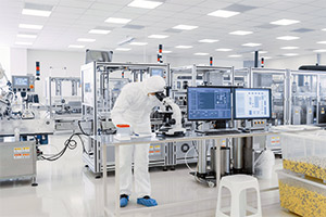 Pharmaceutical industry and laboratory